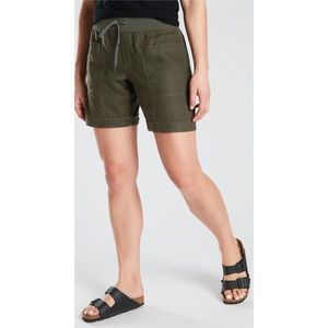 Athleta Cabo Linen Shorts